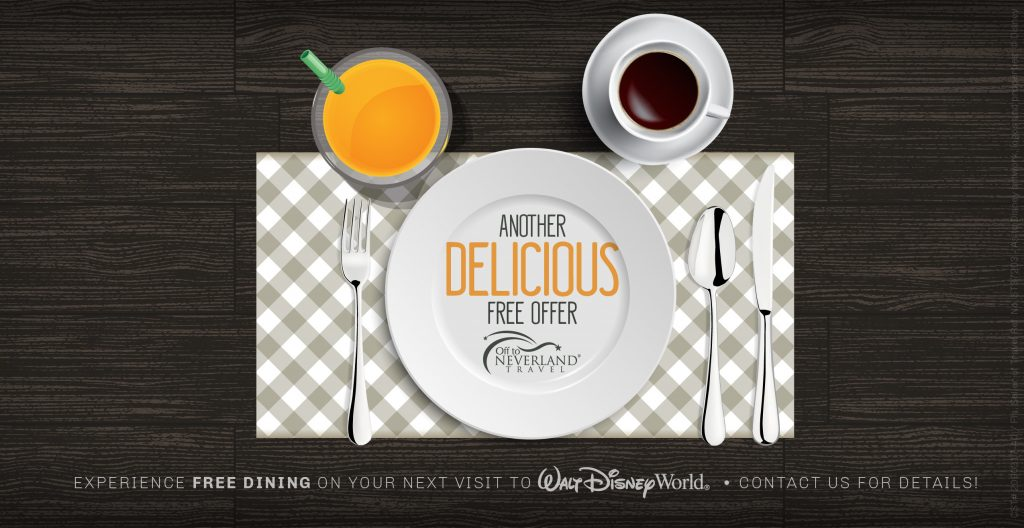 Free Disney Dining 2018