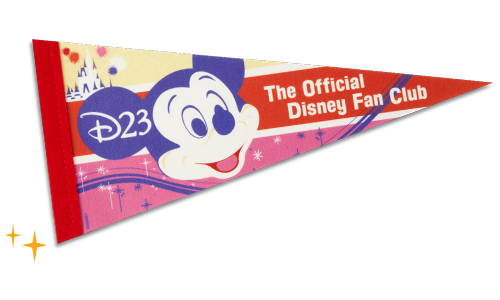 D23: The Official Disney Fan Club Pennant