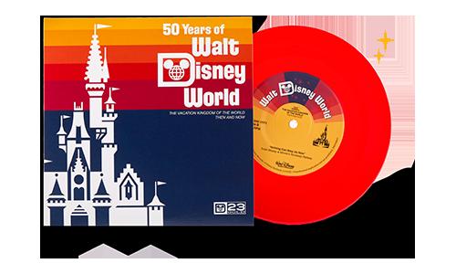 Walt Disney World: Then and Now Vinyl Record