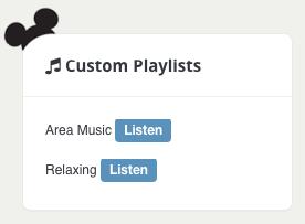 Custom Playlists