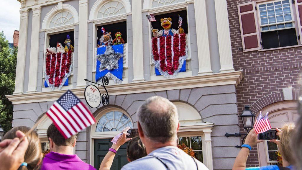 Liberty Square Muppets