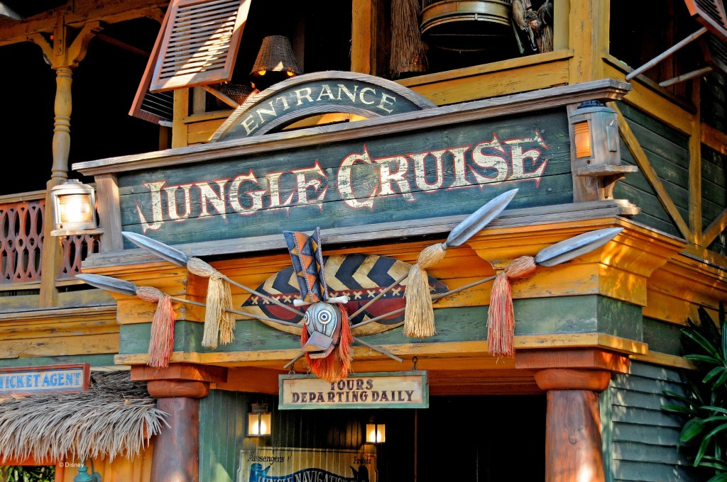 Entrance to Jungle Cruise