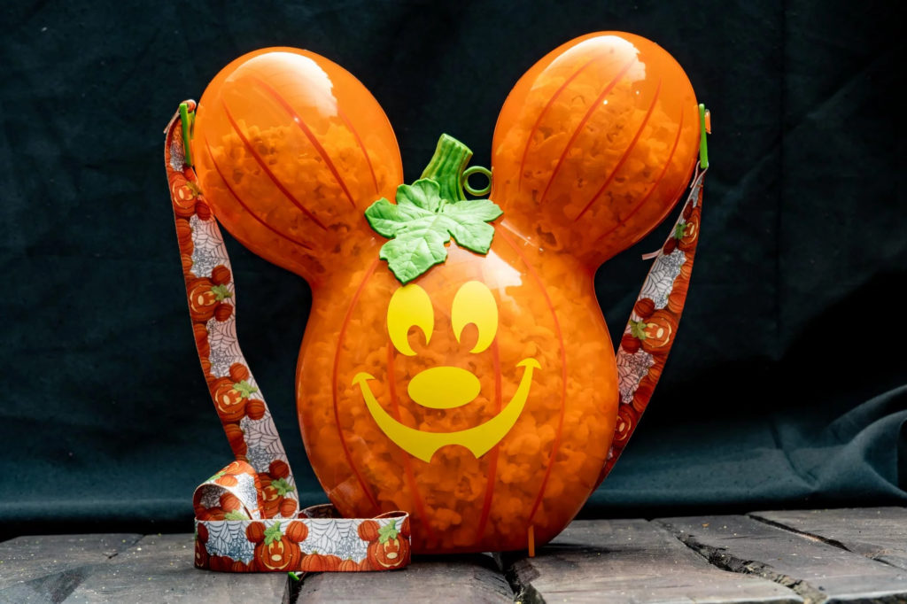 Mickey Pumpkin Premium Popcorn Bucket