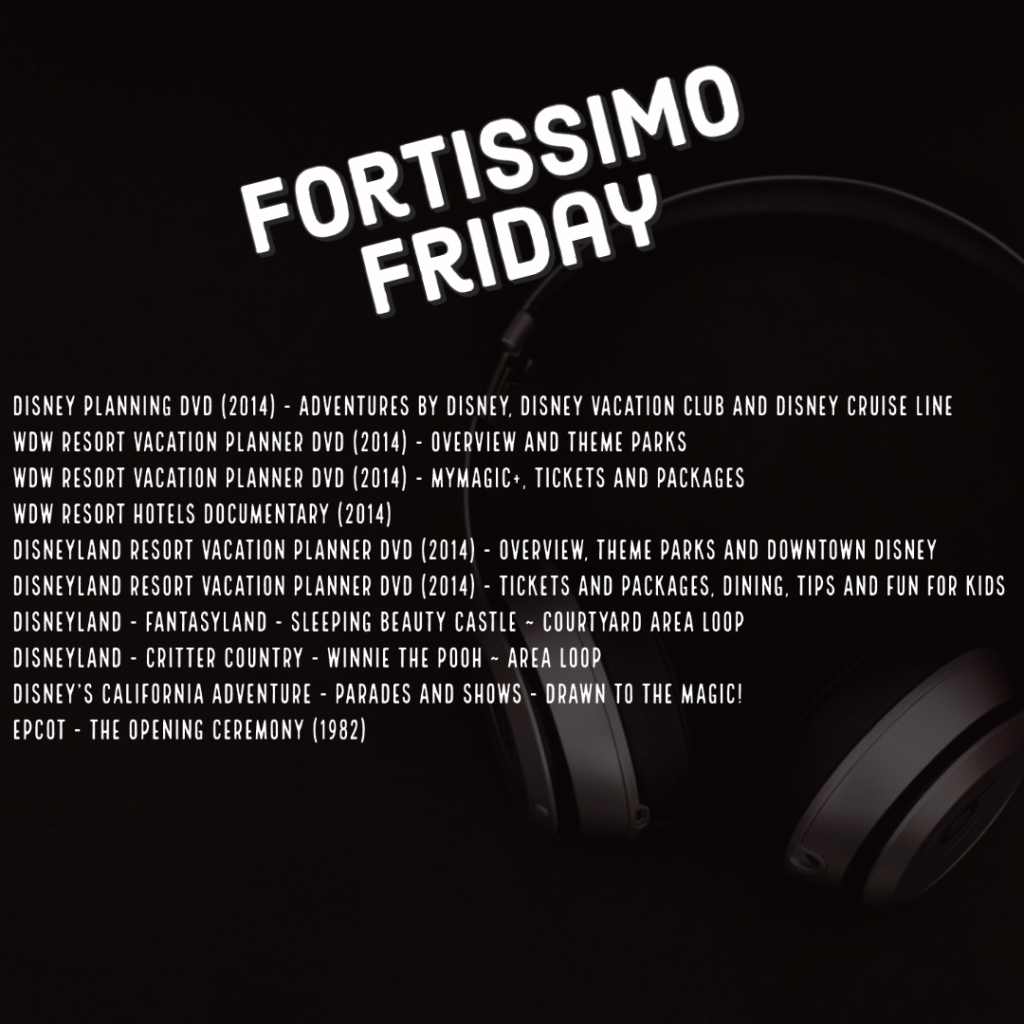Fortissimo Friday