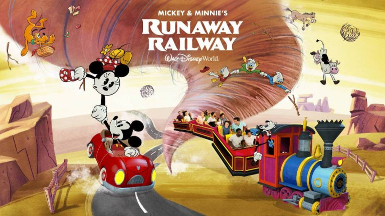 Disney's Hollywood Studios - Hollywood Boulevard - Mickey and Minnie's Runaway Railway ~ Nothing Can Stop Us Now