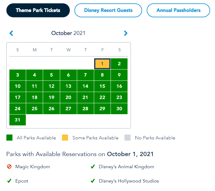 Walt Disney World Sold Out For 50th Anniversary Celebration